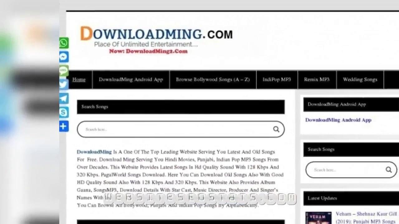 downloadming com website seo analysis youtube youtube