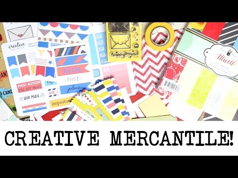September Creative Mercantile Unboxing Ft. Cratejoy! | MyGreenCow