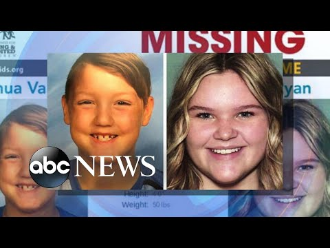 'Remains of children' found in missing siblings' case l ABC News