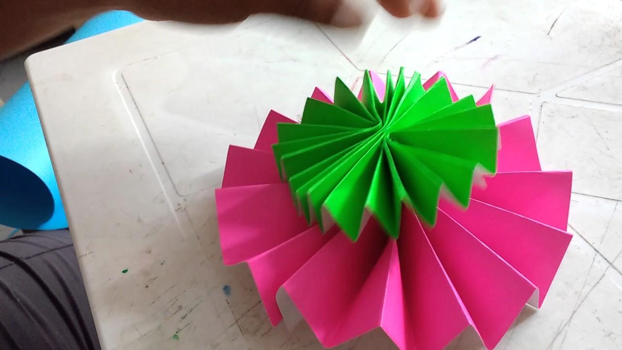 C mo hacer abanicos de colores para decorar fiestas - Abanicos para decorar ...