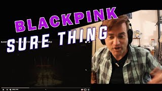 Reaction to BLACKPINK - SURE THING // LIVE //  Reacting to KPOP May 2019 / Guitarist Reacts