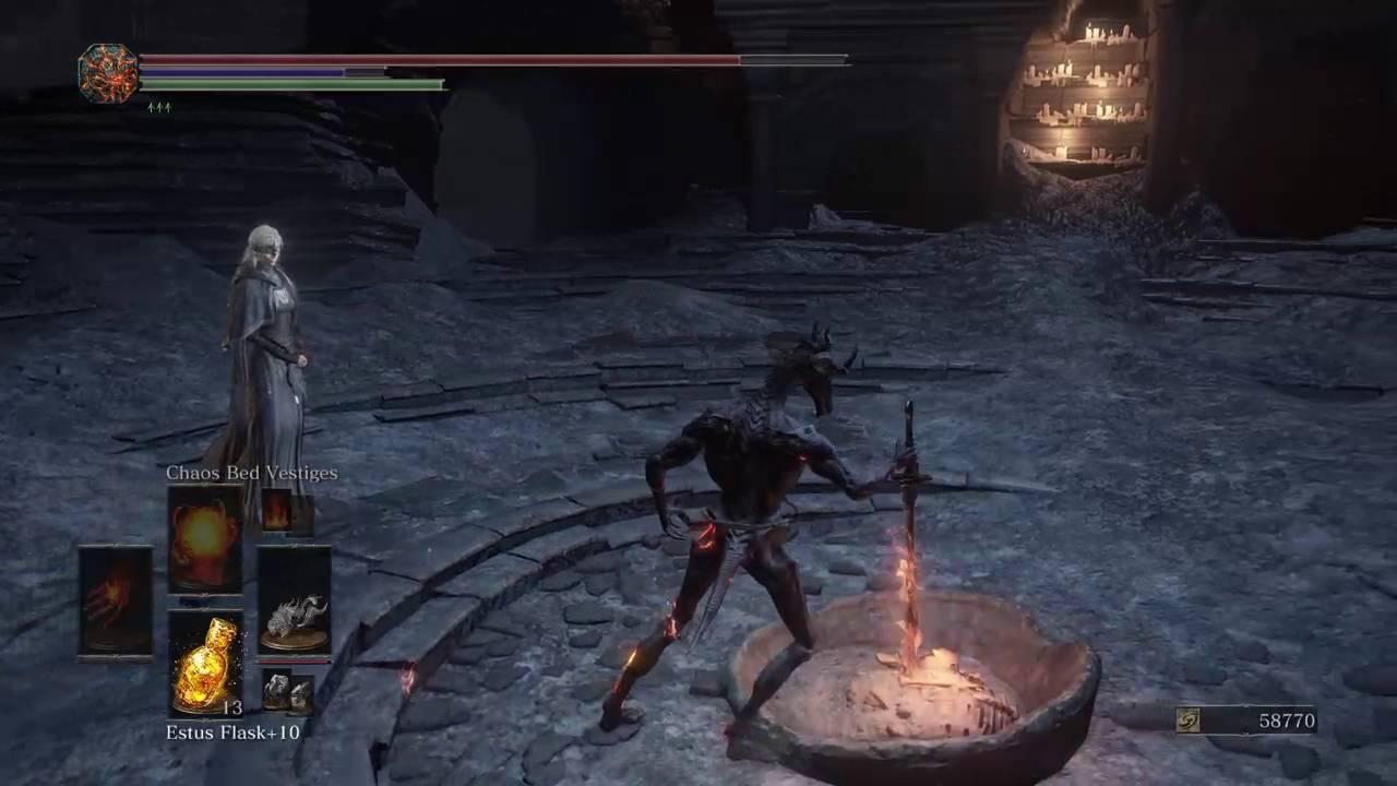 Dark Souls 3: dragon form, demon fist build (NG++) Part 1 - YouTube
