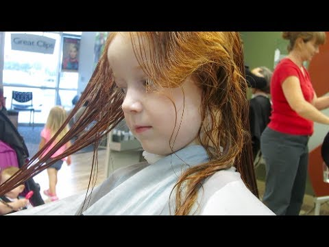 Toddler Longest Hair In The World, Gets It Cut! - YouTube