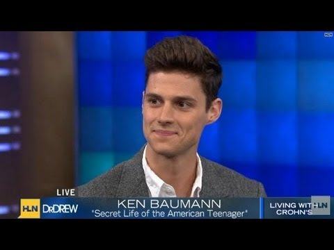 Actor Ken Baumann living with Crohn's disease