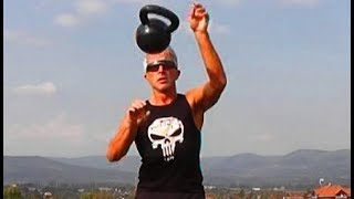 Kettlebell Training - 14 minutes power and pain (20kg) MOTIVATION - do it with me too!