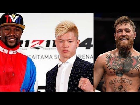 "Mayweather Opponent Tenshin Nasukawa REACTS To Conor Mcgregor Calling Him ""FAKE Jackie Chan""!"