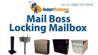 Budgetmailboxes.com | Mail Boss Locking Mailbox