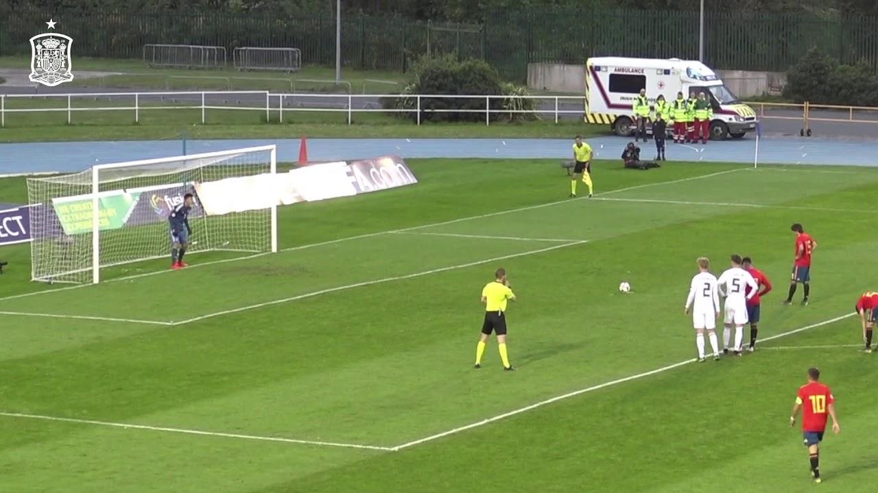 Gol De Pablo Moreno Ante Alemania En El Campeonato De Europa Sub 17