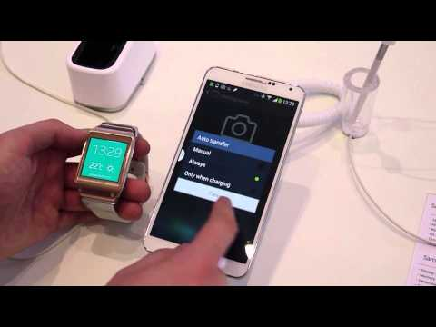 Galaxy Gear Manager App On The Galaxy Note