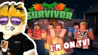 I'M ON SURVIVOR ISLAND?! - Survivor Roblox