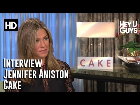 Jennifer Aniston Interview - Cake (2015)