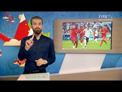 FIFA WC 2018 - ENG vs. BEL – for Deaf and Hard of Hearing - International Sign