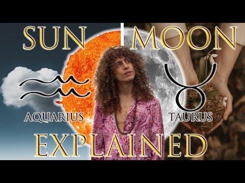 ☉ Sun in Aquarius ☽ Moon in Taurus - YouTube