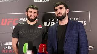 Magomed Ankalaev talks win over Klidson Abreu at UFC Fight Night Prague