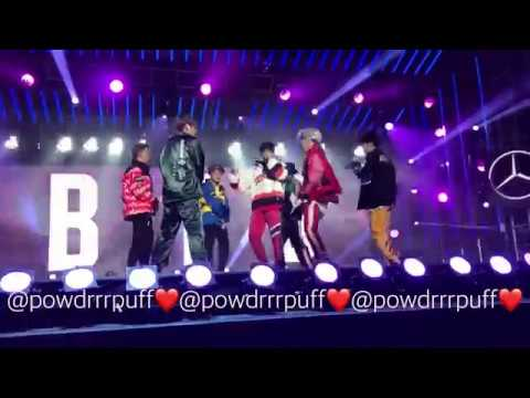 FANCAM - BTS - Save Me - Jimmy Kimmel Mini Concert - 171115