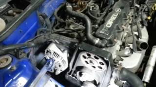 Opel Corsa B 1.4 заміна термостата.