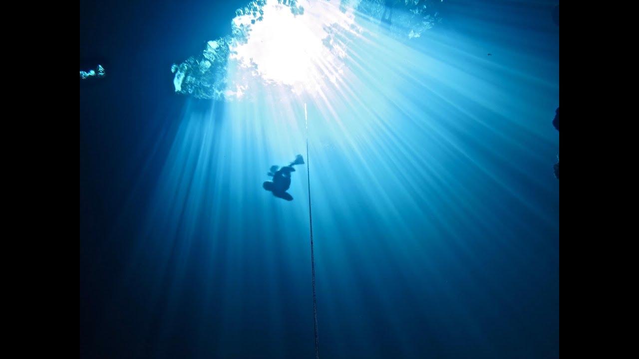 Deep Wallpaper Quotes Free Diving Playa Del Carmen Freediving Mexico Youtube