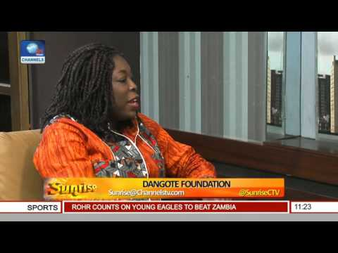 Sunrise: Discussing The Dangote Foundation With Zouera Youssoufou Pt 1