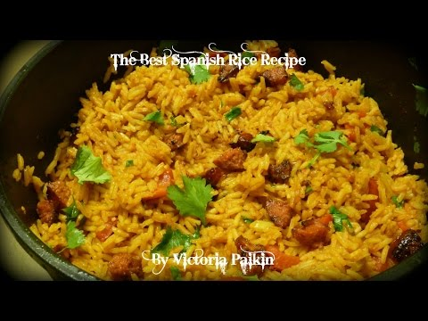 The Best Spanish Rice Recipe | By Victoria Paikin