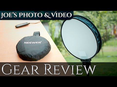 Neewer 16 Inch Portable Round Photography Soft Box | Gear Review