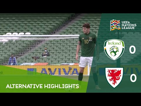 ALTERNATIVE HIGHLIGHTS | Ireland 0-0 Wales | Aviva Stadium Behind-Closed-Doors