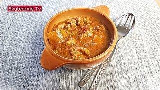 Curry z udek drobiowych z ziemniakami i groszkiem :: Skutecznie.Tv