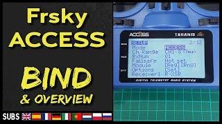 FRsky ACCESS Protocol - Bind & Overview (X-Lite SPro; X9Lite; X9D 2019; QX7 ACCESS)