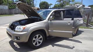 SOLD 2007 Toyota 4Runner Limited 2WD One Owner Meticulous Motors Inc Florida For Sale