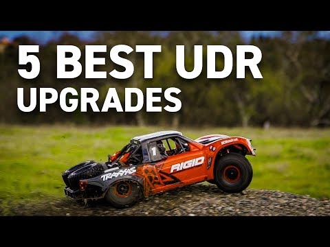 5 Best Upgrades For The Traxxas UDR Unlimited Desert Racer