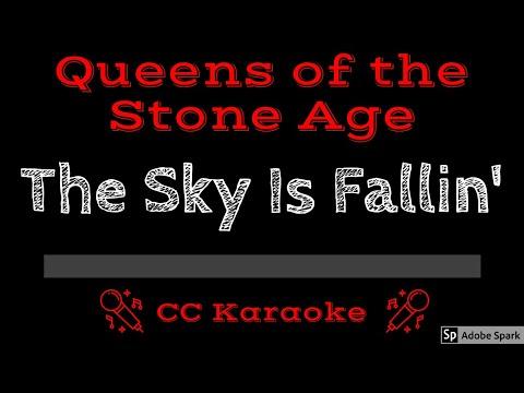 Queens of the Stone Age • The Sky Is Fallin' (CC) [Karaoke Instrumental Lyrics]