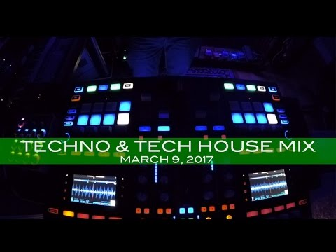 Techno Tech House Mix Deep Underground House Dance March 9,  2017 60 Minutes