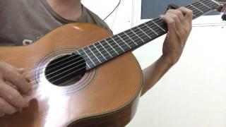Diễm xưa - Khánh Ly- guitar - solo - cover