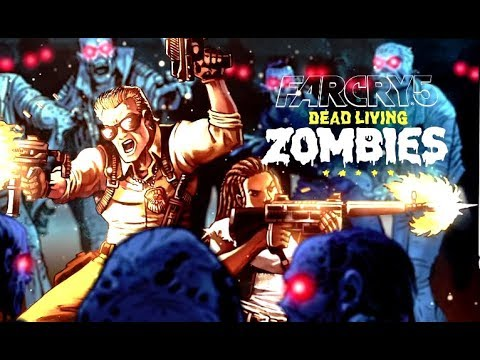 FAR CRY 5: DEAD LIVING ZOMBIES All Cutscenes (Game Movie) 1080p HD