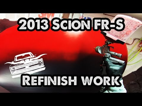 2013 Scion FR-S Spray Painting (Code: c7p)