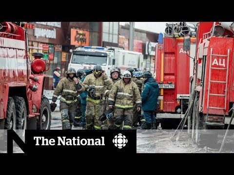 Mall fire in Kemerovo, Russia kills dozens