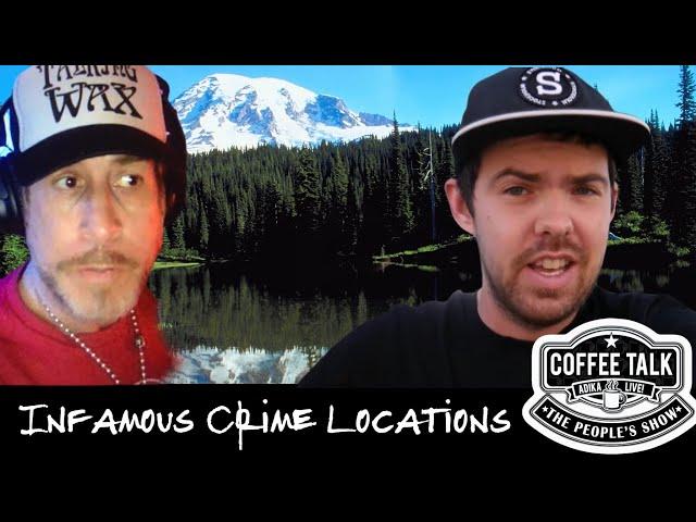 #1265 Infamous Crime Location Vlogger Harmin | Coffee Talk ADIKA Live!