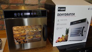Kwasyo 8 Tray Dehydrator Review and Demonstration