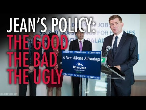 Why Brian Jean's policy proposals are a double-edged sword