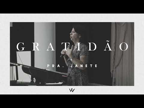 GRATIDÃO - Pastora Janete - ÁUDIO