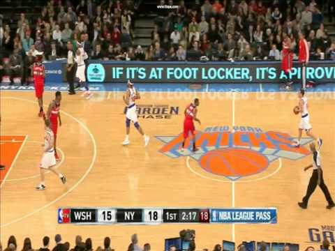 Walt Frazier Compares Kevin Seraphin to Wes Unseld - 11/30/12