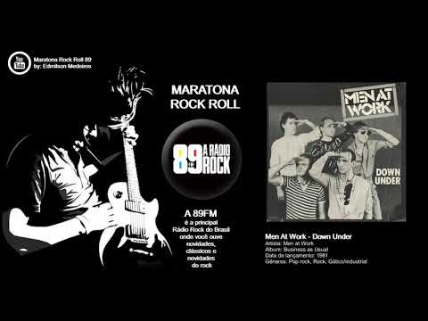 A Rádio Rock - 89,1 FM - SP Maratona Rock Roll (Clássicos)