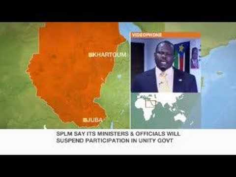 2005 Sudan peace deal in jeopardy - 11 Oct 07