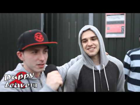 PlatinumMediaTv // Duppy & Leave - Interviews & Crowd Reactions On The Day