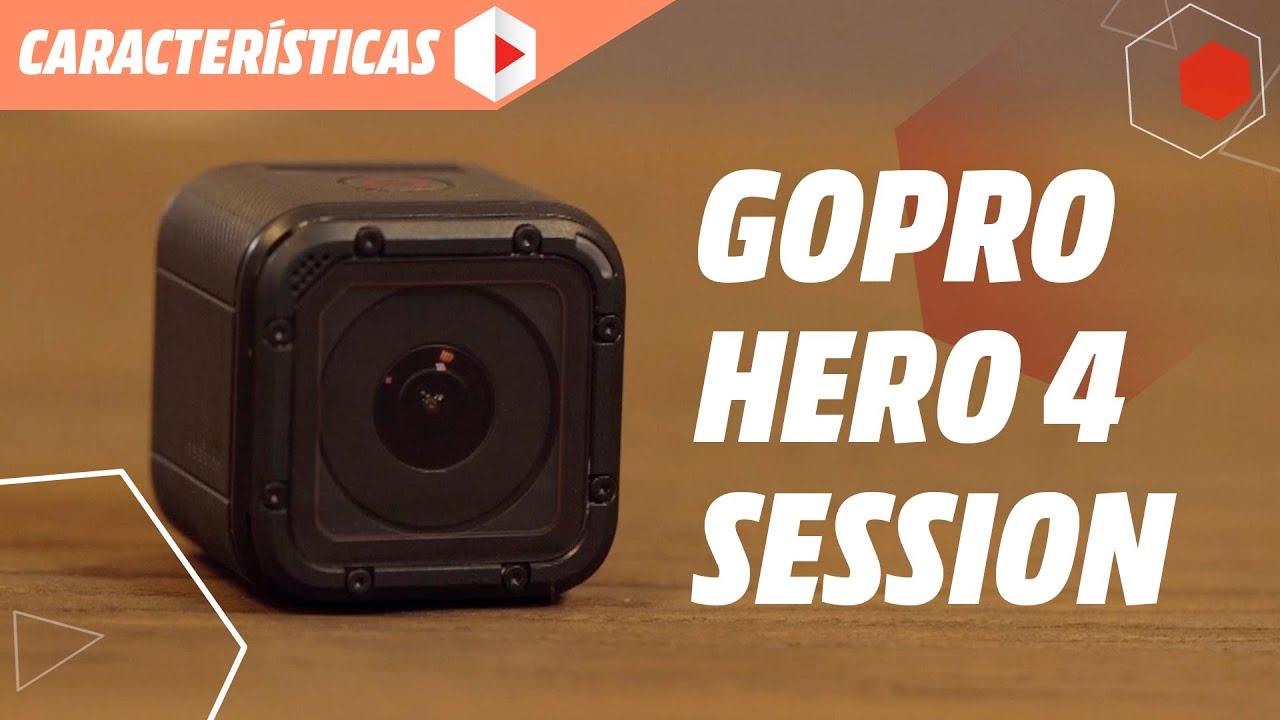 gopro hero 4 session caracter sticas t cnicas youtube. Black Bedroom Furniture Sets. Home Design Ideas