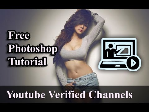 Free Photoshop Tutorial Youtube Verified Channels thumbnail