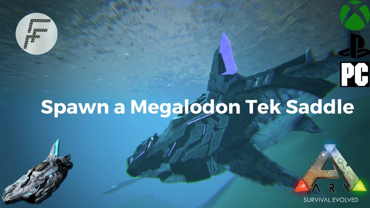 Ark survival evolved how to spawn a megalodon tek saddle youtube ark survival evolved how to spawn a megalodon tek saddle malvernweather Gallery