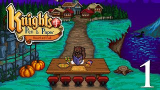 Knights of Pen and Paper - Haunted Fall Gameplay 1
