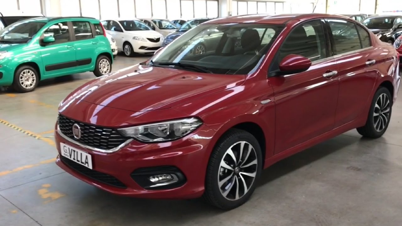 fiat tipo 1 6 mjet 120cv 4 porte easy youtube. Black Bedroom Furniture Sets. Home Design Ideas