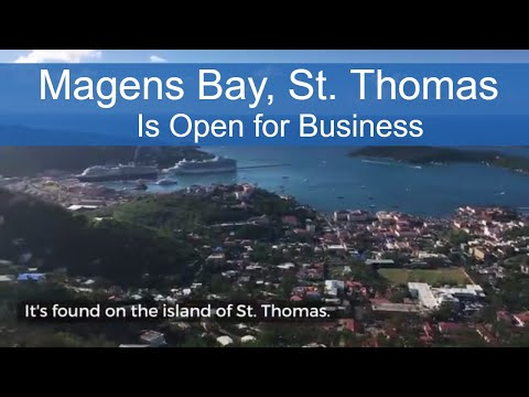 After Hurricane Irma: Magens Bay in St. Thomas is Open for Business
