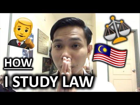HOW I STUDY LAW - [MALAYSIAN UNIVERSITIES]